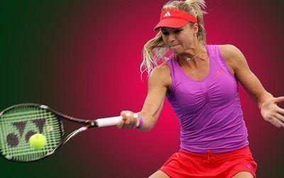 壁紙をダウンロードする 形式, ラケット, テニスプレイヤー, マリアkirilenko, マスタースポーツ