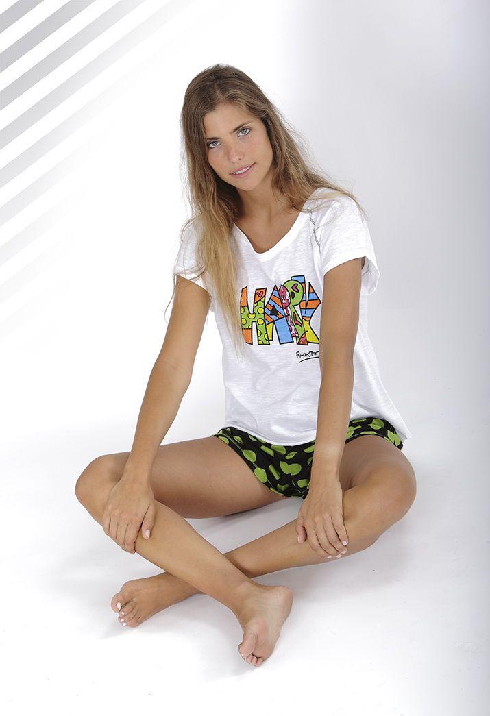 Pijama para ella Britto by massana verano #homewear #britto