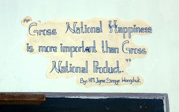 Gross national happiness - Wikipedia, the free encyclopedia