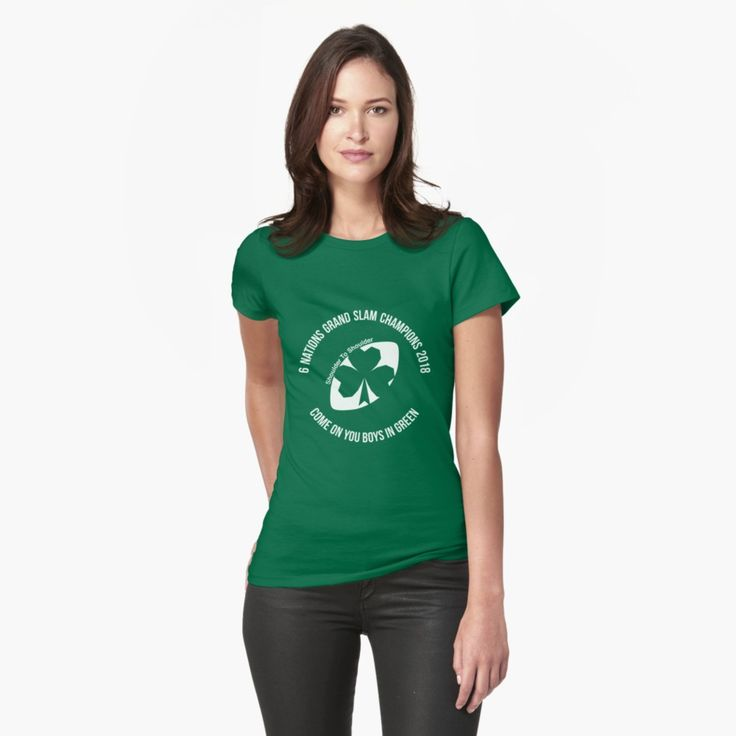 Ireland Grand Slam 2018 womens tee by Fimbis   _________________________________  Ireland, Irish, Ulster, Connacht, Leinster, Munster, shamrock, Irish rugby, rugby world cup, 6 nations, coybig, coygig, wrwc, 6 nations grand slam champions 2018, Kieth Earls, Rory Best, Jacob Stockdale, Sean Cronin, Tadhg Furlong, Cian Healy, CJ Stander, Conor Murray, Jonathan Sexton, Garry Ringrose, Rob Kearney, tees, t-shirt, apparel, tee, women's clothing,