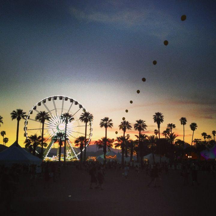 Coachella Valley Music and Arts Festival in Indio, CA