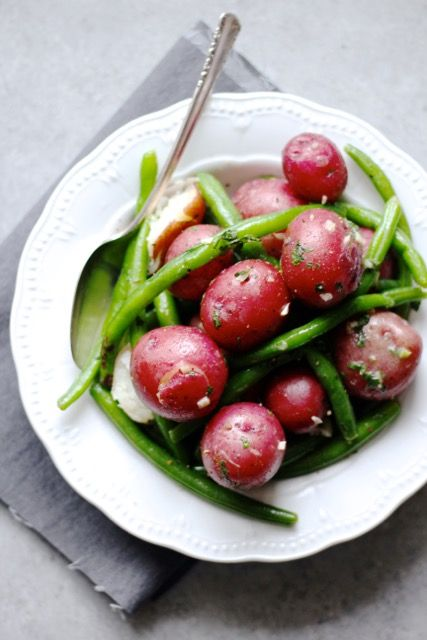 Baby Red Potatoes with Garlic Butter
