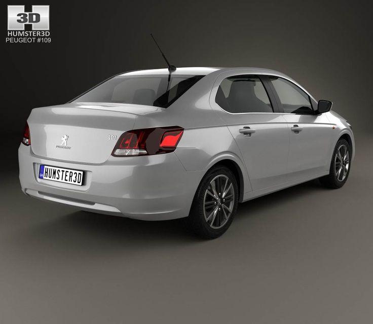 peugeot 301 2017 3d model | 301 | pinterest | d, models and 3d