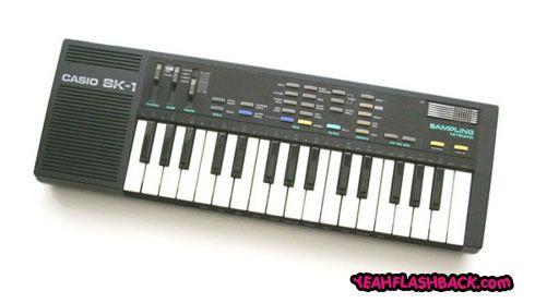 I had a yamaha keyboard. I would put it on demo and pretend i could play! haa!
