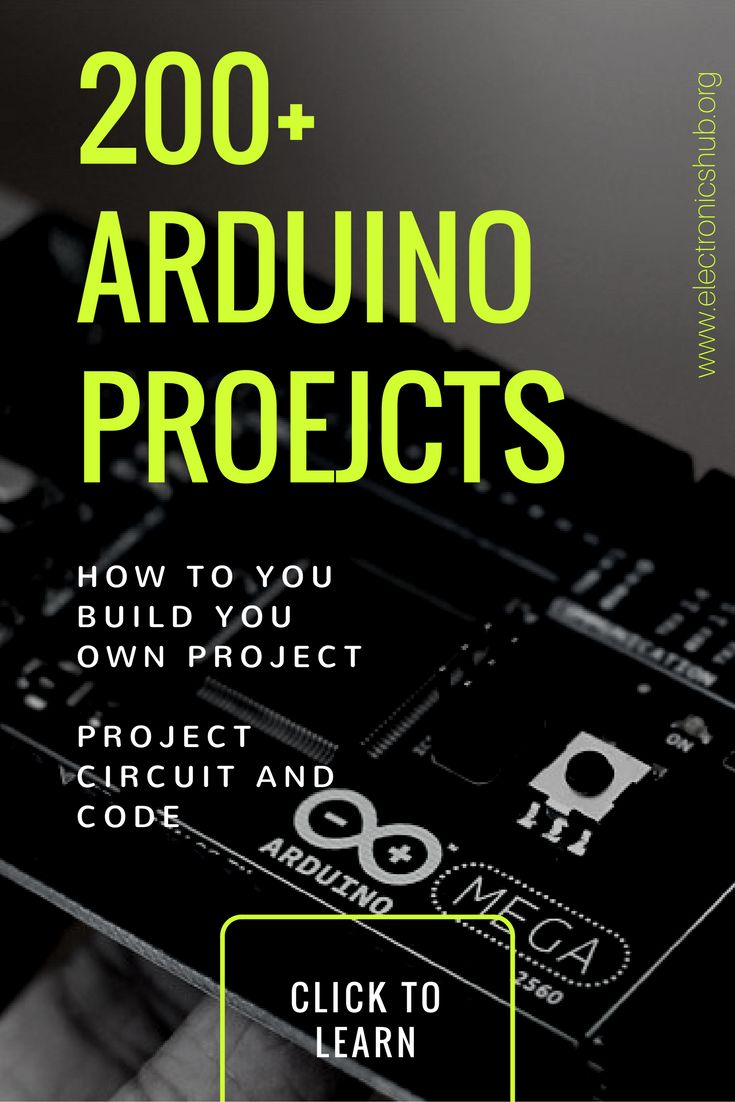200 ARDUINO PROJECTS