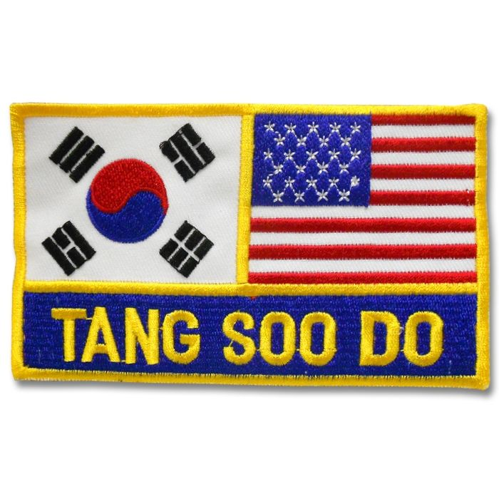 Korean American Tang Soo Do Patch now available at http://www.karatemart.com/