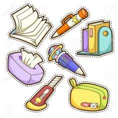 Resultado de imagen para school tools clipart