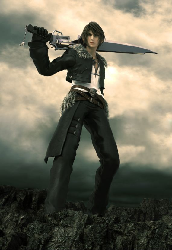 Squall Final Fantasy 8