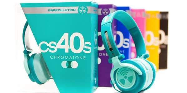 Chromatone Headphones Packaging is Sliced for a Sneak Peek Inside #mostamazinggadgets #techgadgets trendhunter.com