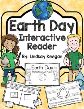 Earth Day is so much fun for young learners.  Use this interactive Earth Day mini-reader to help reinforce your students understanding of recycling, planting trees, reducing waste, reusing materials and more!  This Earth Day book can be used across several lessons and is perfect for whole group, small group or center activities.Each page has information about Earth Day and tasks for students to complete to help them show their understanding of the topic.Earth Day topics included in this…