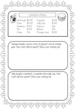 Australian Money Worksheets Year 1/2