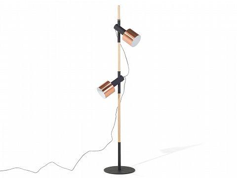 Stehlampe Schwarz - Lampe - Stehleuchte - Leselampe - Standleuchte - OWENS_664800