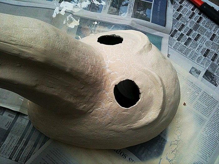 how to make medieval doctor mask