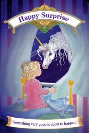 Magical Unicorns Oracle Cards HAPPY SURPRISE | Doreen Virtue