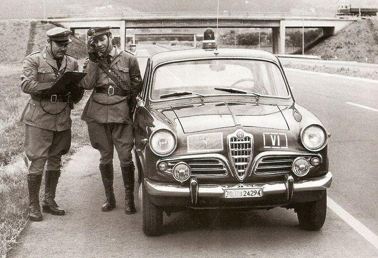 Alfa Giulia Ti - Polizia Stradale