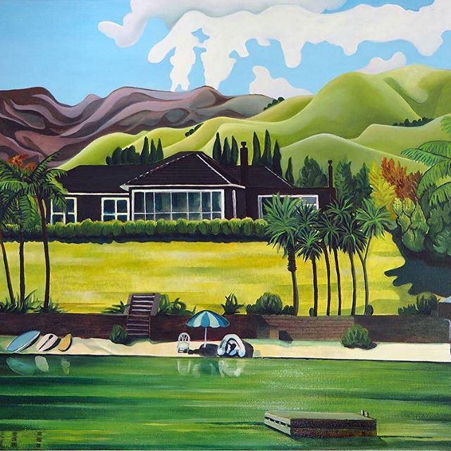 A recent commission. Oil on canvas. 100cm x 70cm.