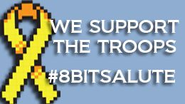 Miss out on our 8-Bit Salute stream? You can watch the beginning here: http://youtu.be/OvbEknP8C2w