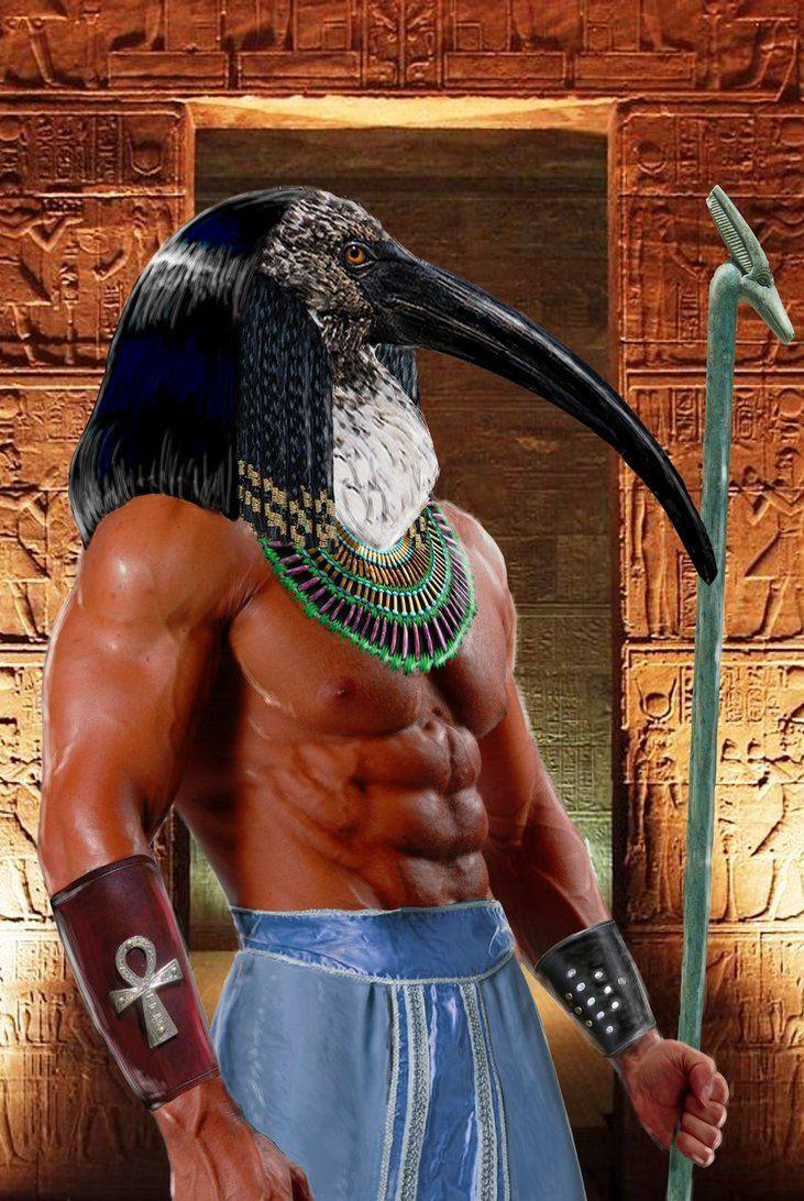 Toth - um dos primeiros deuses egípcios
