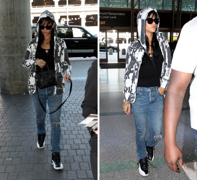 How should a girl style the Jordan 12