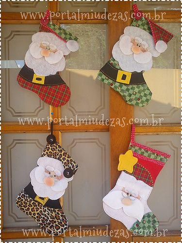 Botinhas De Papai Noel - Para todos os Gostos ! =D