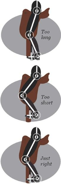 Horse Rider's Mechanic article Stirrup length