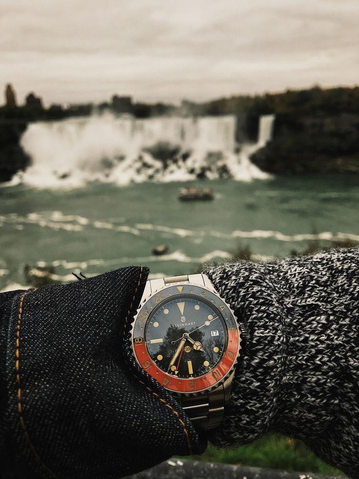 Steinhart Ocean 39 Vintage Gmt At Niagara Falls Menwatches Watchesformen Menwatchesclassy Mens Watches Affordable Men S Watches Luxury Watches For Men
