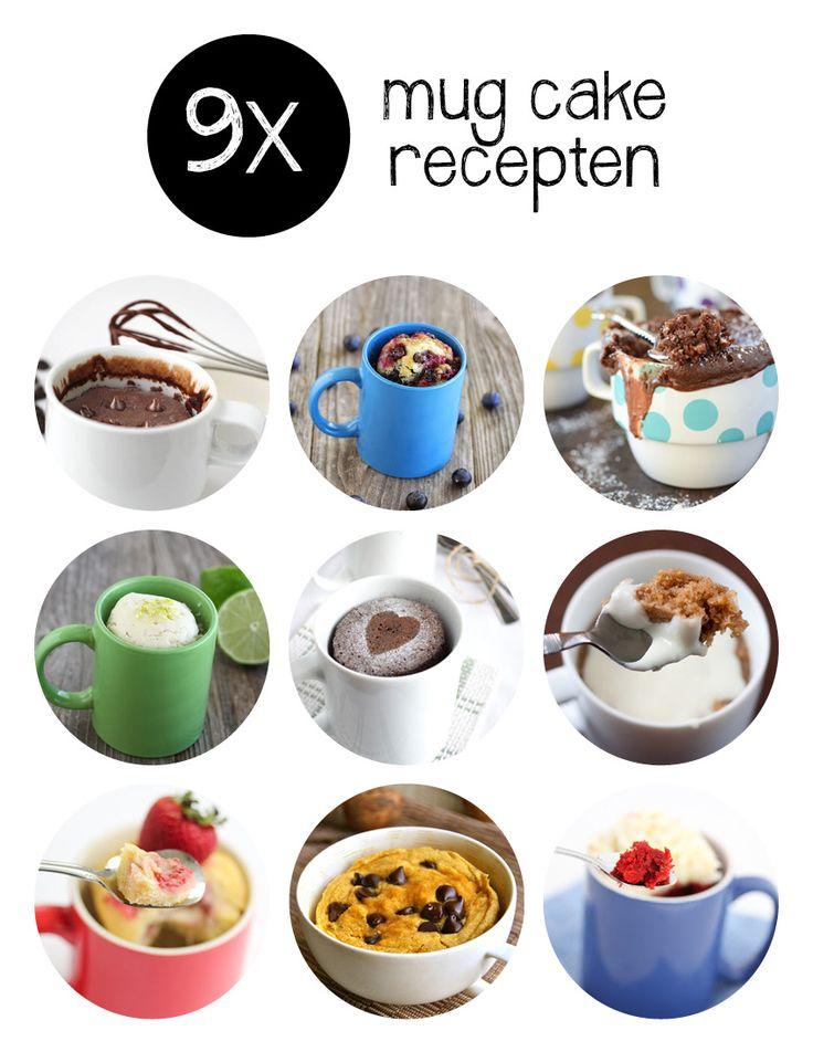 Helemaal hot in de Verenigde Staten: mug cake. In het Nederlands vertaald: cake in een mok. Wij vertellen je wat het is en geven je negen heerlijke mug cake recepten om zelf mee aan de slag te gaan.
