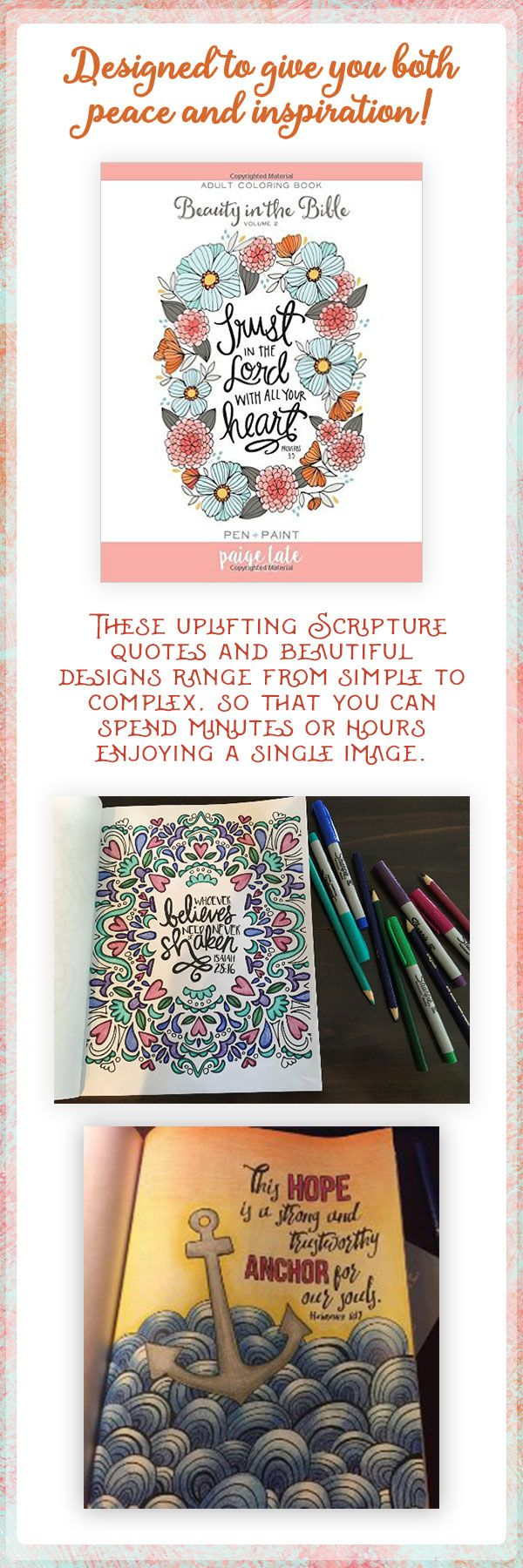 Beauty In The Bible Coloring Book For Adults Biblejournaling Biblejournallove Adultcoloring