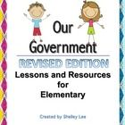 Contents: Lesson Plans -Background Builder -Government Buildings -Greek's Democracy -Rome's Republic -Government Jobs -Levels and Branches -...