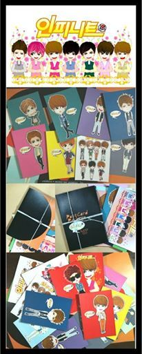 postCARD | INFINITE fanART ready to SALE...| created by +Ratna Har (Little Lumut)