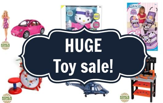 HUGE Kohls Toy Sale - Toys only $16.24 shipped - some regularly $59!
