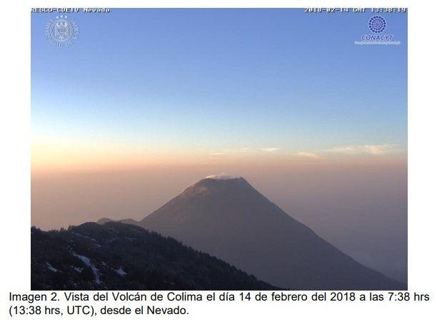 SpaceByEli: ▓ Volcán de Colima | Universidad de Colima | 16-Fe...