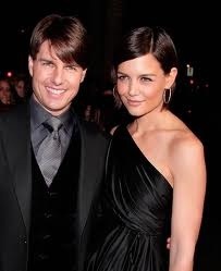 Tom Cruise and Katie Holmes - married in 05