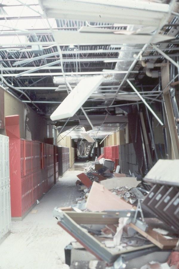 McNeil Jr High After Terrible Tuesday..Wichita Falls, Texas Tornado Damage