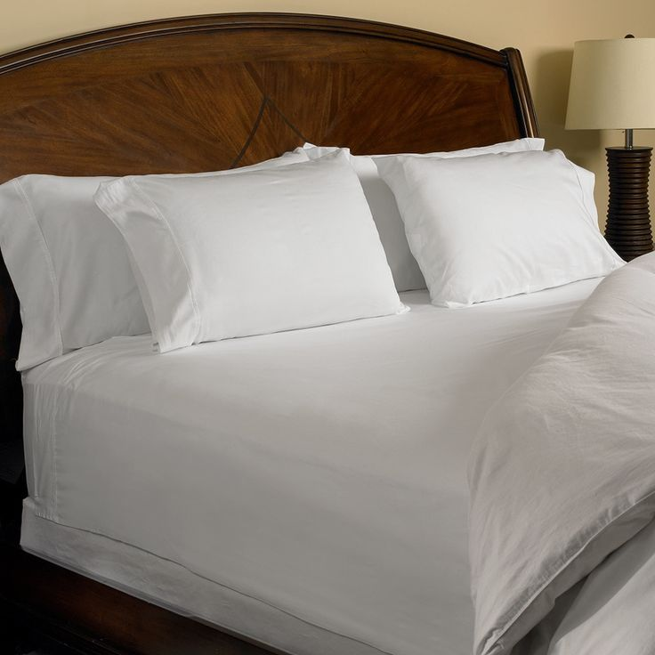 Egyptian Cotton 1000 Thread Count Sheet Set in White or Ivory
