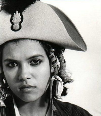 Annabella Lwin of Bow Wow Wow --  She's definitely onboard