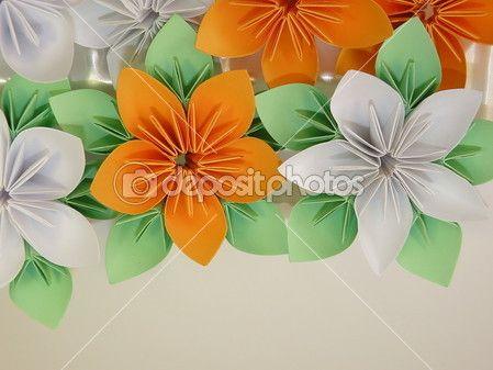origami květiny — Stock obrázek #2291146