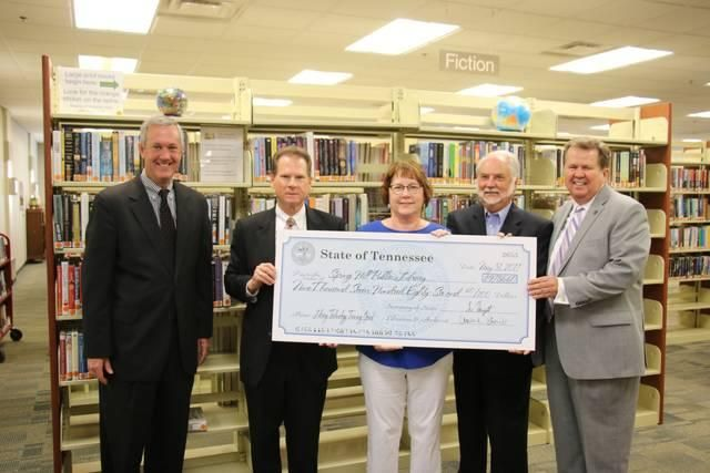 SPRING HILL — Spring Hill Public Library this week received one of the largest amounts of grant money awarded by the state to a public library,