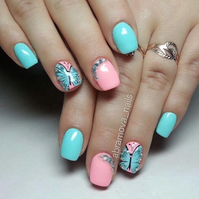 120 best nyári köröm images on Pinterest   Nail art designs, Nail ...