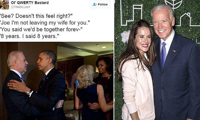 Joe Biden loves THOSE Obama bromance memes according to his daughter