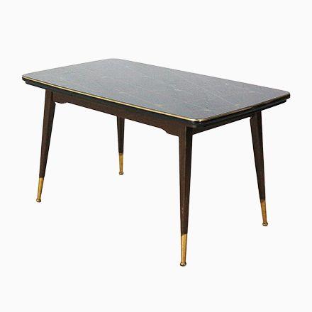 Höhenverstellbarer Ausziehbarer Tisch Mit Glasplatte, 1950er Jetzt  Bestellen Unter: ...