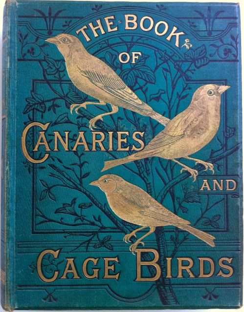 The Illustrated Book of Canaries and Cage-Birds by W.A. Blackston, W. Swayland & August F. Weiner, London: Cassell and Company, Limited 1877-1880  | Beautiful Books
