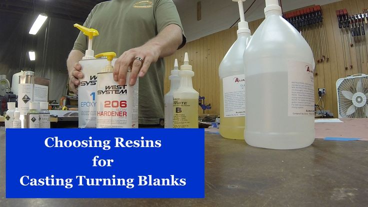 Choosing Casting Resins - YouTube
