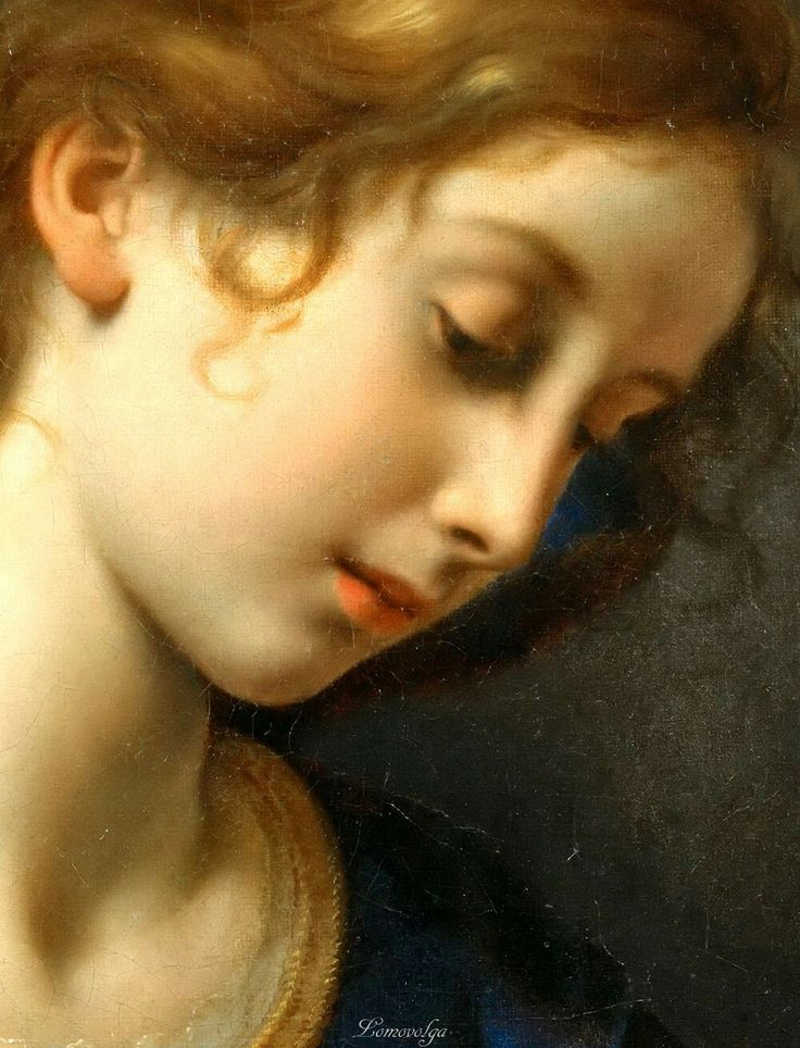 Дольчи, Карло (Флоренция 1616-1686) Ангел Благовещения (detail) Лувр