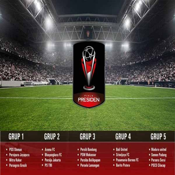 Jadwal Lengkap Untuk Turnamen Piala Presiden 2017
