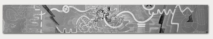 "Radim Koros ""panorama"" (2015) 264/35 mixed media on paper"