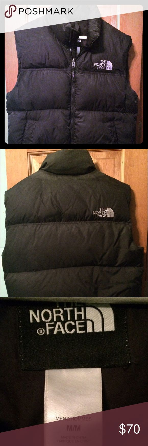 North Face Vest Used in good condition.. no marks holes or stains North Face Jackets & Coats Puffers