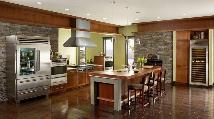 contemporary kitchen designs - Google Search