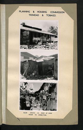 Planning & Housing Commission #Trinidad & Tobago. Slum areas in Port of Spain prior to demolition.