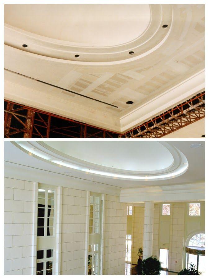 Cielorraso en Hyatt Hotel. Realizado en Construcción en Seco con sistema Knauf. Fotógrafo: Alejandro Leveratto.